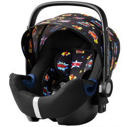 Автокресло BRITAX ROEMER Baby-Safe 2 i-Size + база FLEX Comic Fun. Вид 2