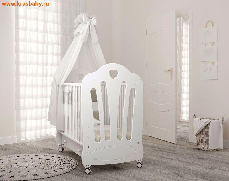 Кроватка GANDYLYAN Стефани (на колесах) (фото)