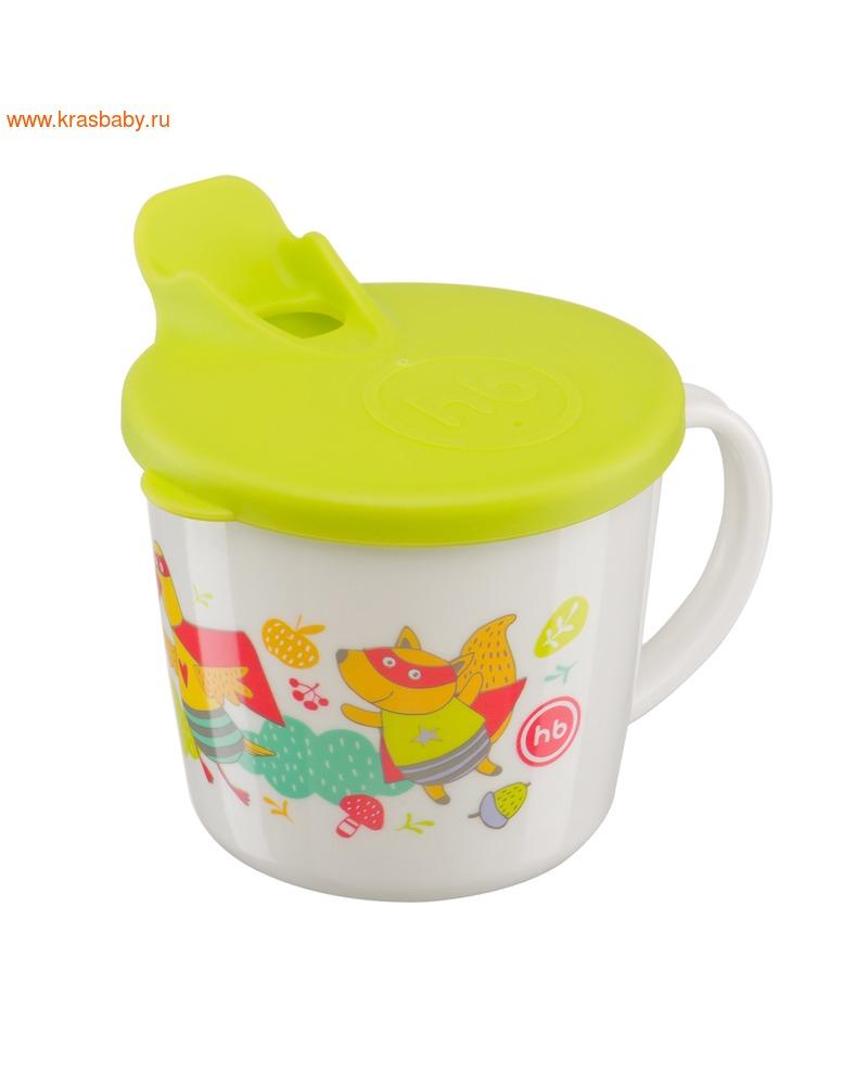 HAPPY BABY Тренировочная кружка с крышкой TRAINIG CUP (фото)