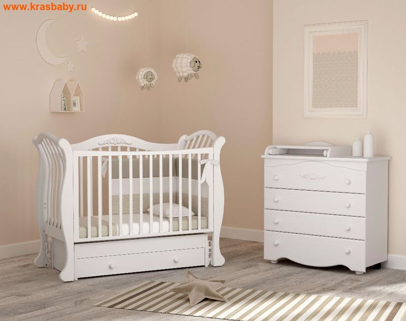 Кроватка GANDYLYAN Габриэлла люкс (фото)