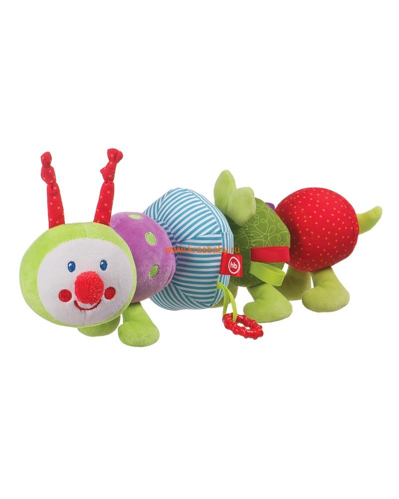 """HAPPY BABY Развивающая игрушка-трансформер """"Гусеница"""" (фото)"""