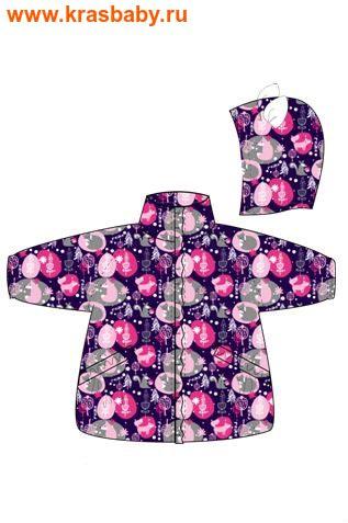 REIKE Комплект детский (куртка+полукомбинезон) FOX purple (фото)