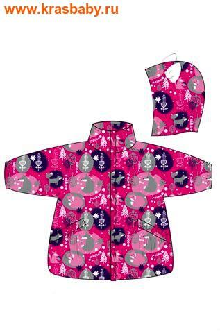 REIKE Комплект детский (куртка+полукомбинезон) FOX fuchsia (фото)