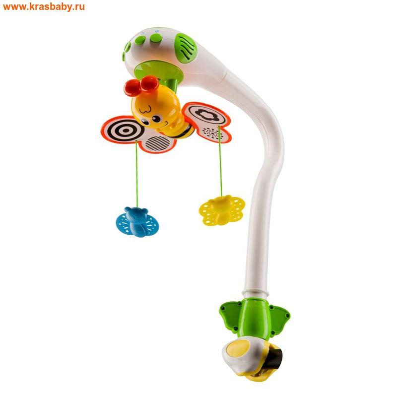 HAPPY BABY Музыкальный мобиль MAGIC BUTTERFLIES (фото)