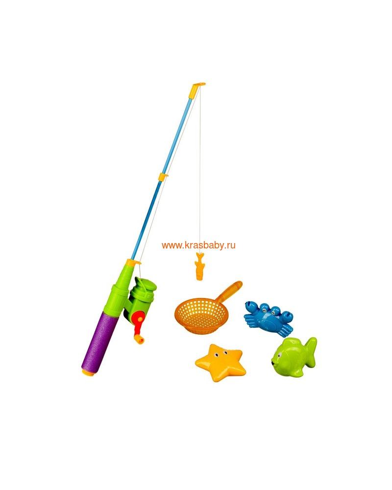 HAPPY BABY Набор игрушек для ванной LITTLE FISHMAN