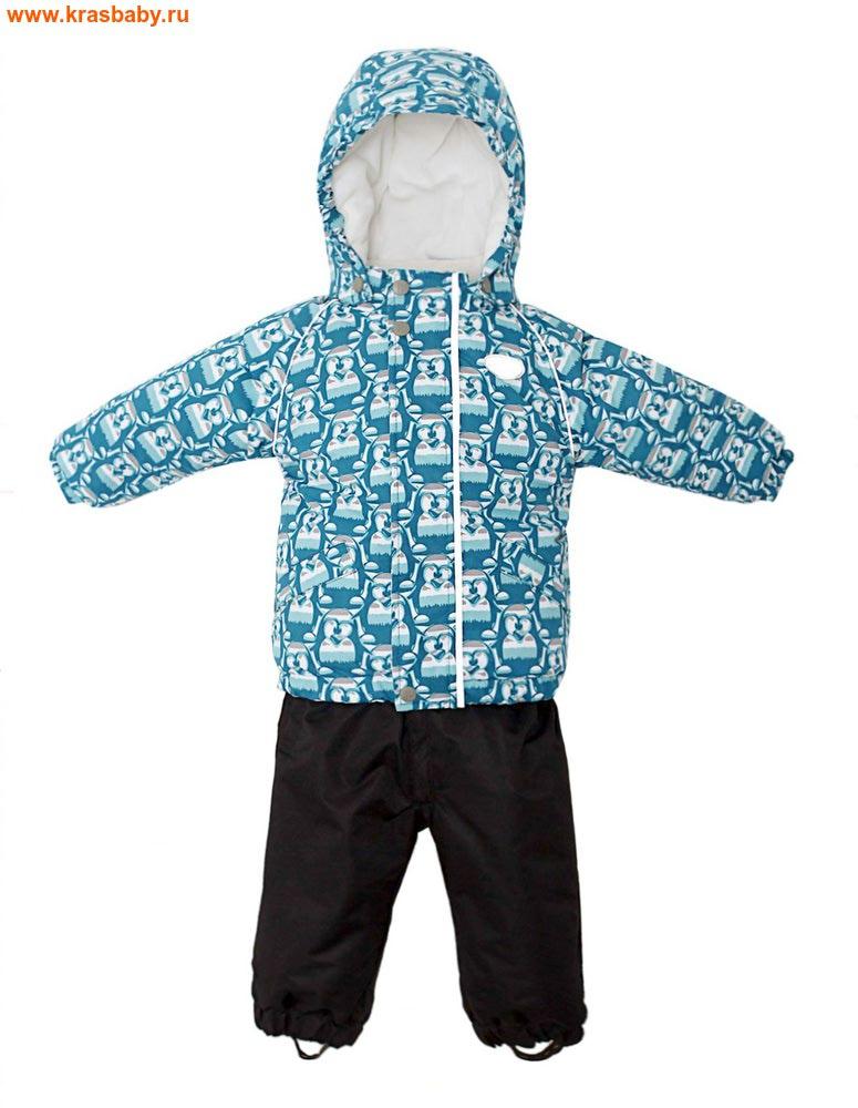 REIKE Комплект для мальчика (куртка+полукомбинезон) tweety green (фото)