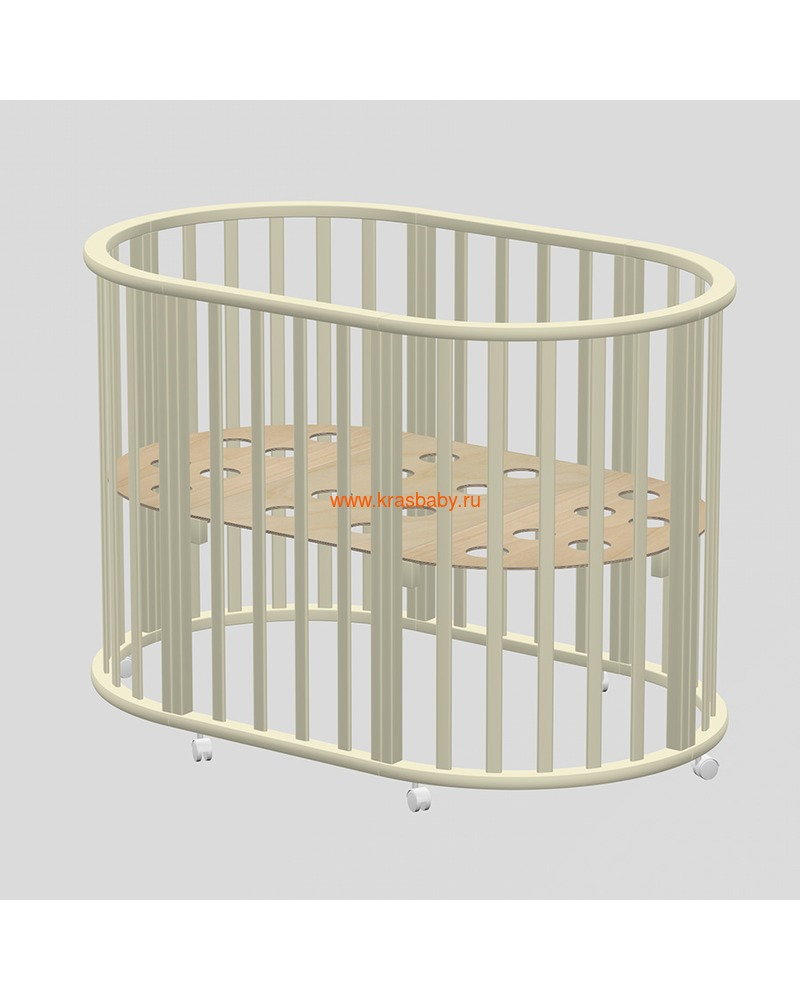 Кроватка ВЕДРУСС Оливия (круглая) (фото)