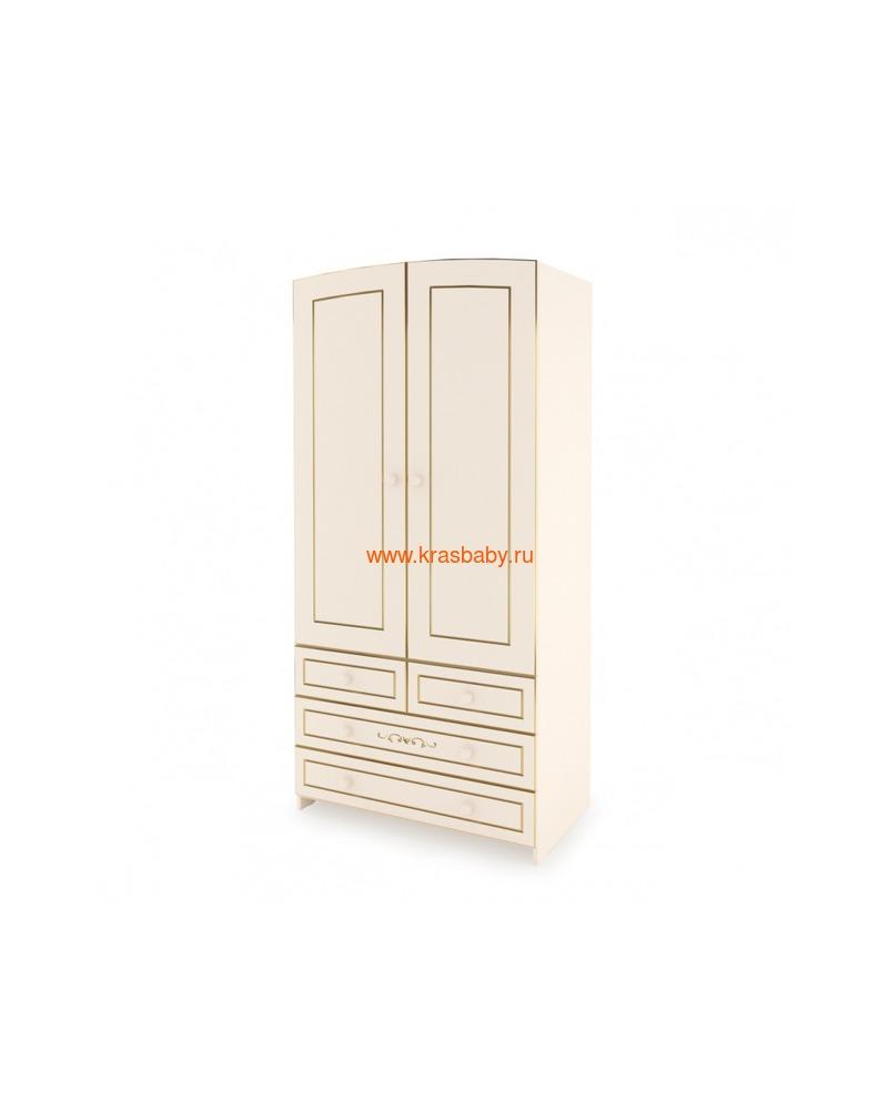 Шкаф GANDYLYAN двухдверный люкс (фото)