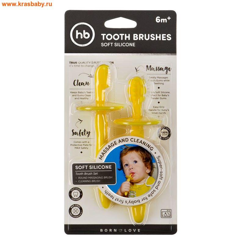 HAPPY BABY Набор силиконовых зубных щеток TOOTH BRUSHES (фото)