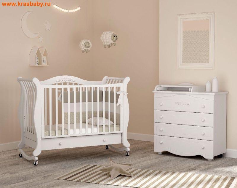 Кроватка GANDYLYAN Габриэлла (качалка) (фото)