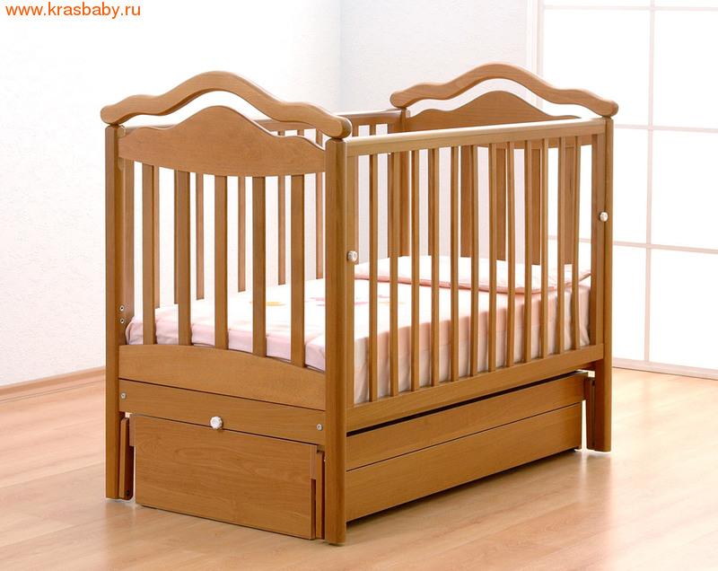 Кроватка GANDYLYAN АНЖЕЛИКА (качалка)