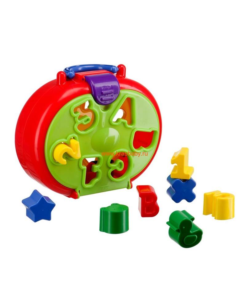 HAPPY BABY Игрушка-сортёр IQ-SORTER (фото)
