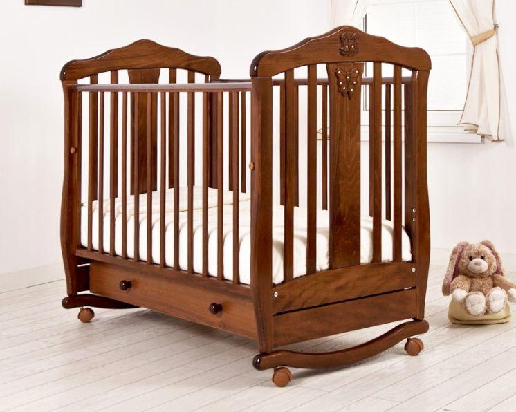 Кроватка GANDYLYAN Доминик (качалка) (фото)
