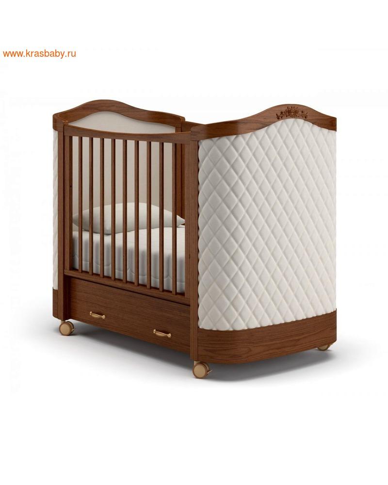 Кроватка GANDYLYAN Тиффани декор ромб (фото)