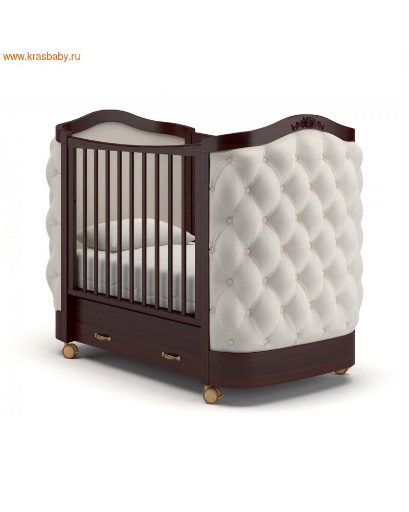 Кроватка GANDYLYAN Тиффани декор пуговицы (фото)