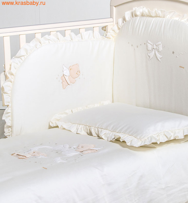 Комплект постельного белья ITALBABY Sweet Angels 5 предметов