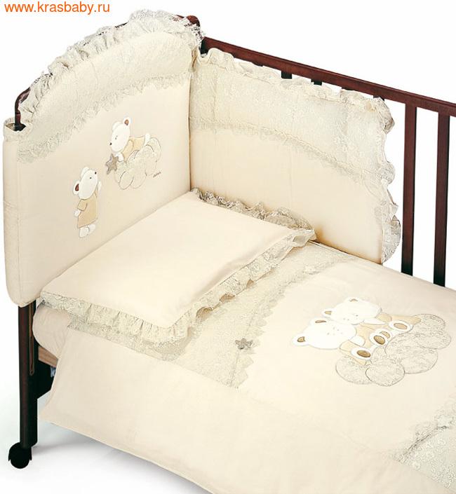Комплект постельного белья ITALBABY Angioletti 5 предметов (фото)
