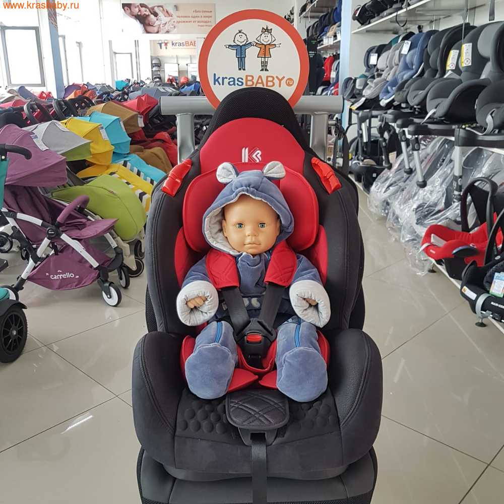 Автокресло LiTTLE KiNG BQ02 ISOFIX (9-25кг) (фото)