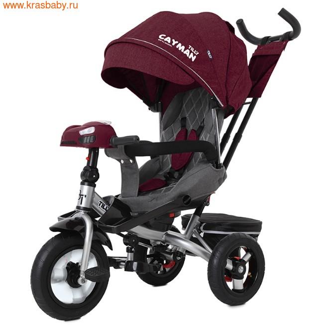 Велосипед Baby Tilly трехколесный CAYMAN T-381 с поворотным сидением и наклоном спинки (фото)