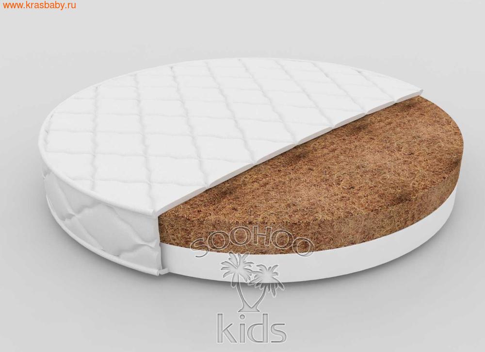 Матрас детский SOOHOOKIDS в колыбель Кокос Холкон 9см на Surf 8 в 1 (фото)