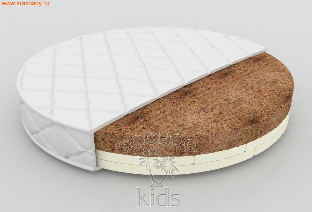 Матрас детский SOOHOOKIDS в колыбель Кокос Латекс на Surf 8 в 1 (фото)