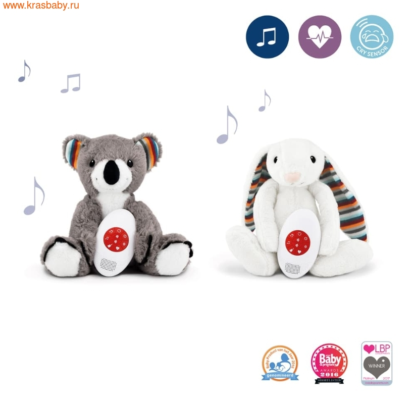 ZAZU игрушка-комфортер Коко и Биби (фото)