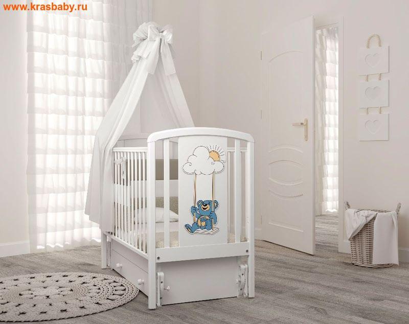 Кроватка GANDYLYAN ЖАКЛИН (мишка на качелях) (фото)