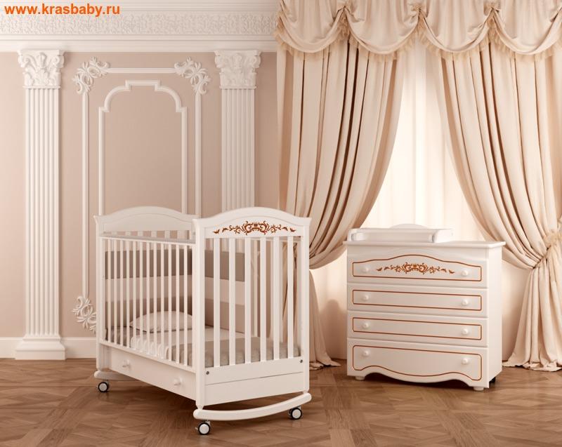 Кроватка GANDYLYAN Даниэль Люкс (качалка) (фото)