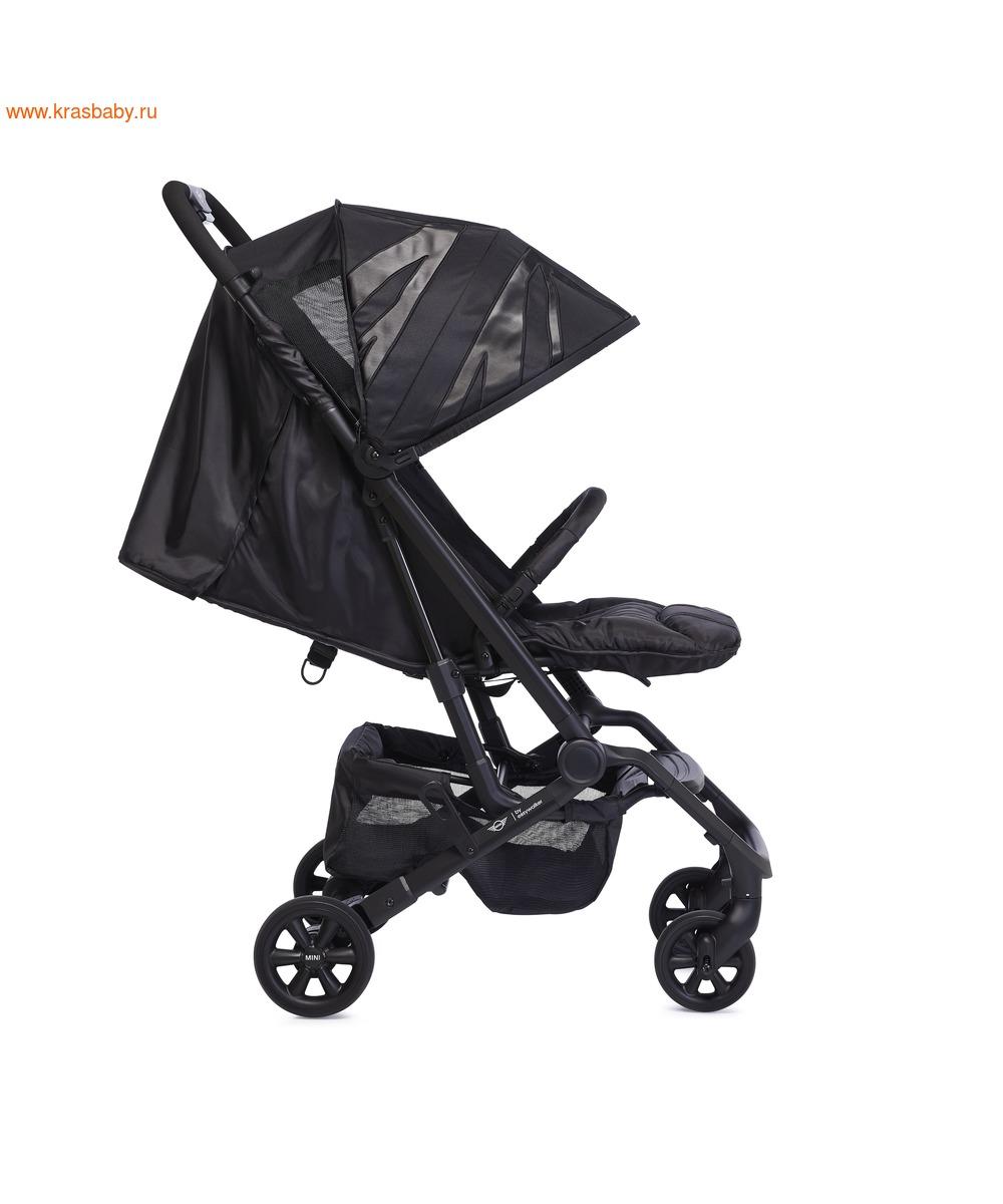 Коляска прогулочная Easywalker MINI Buggy XS (LXRY Black) (фото)