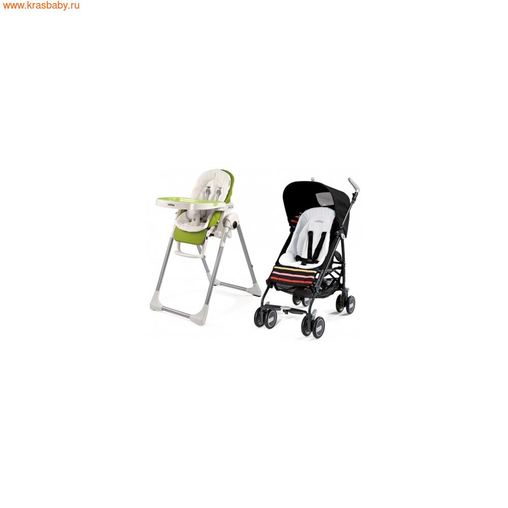 Peg Perego Универсальный вкладыш Baby Cushion White (фото)