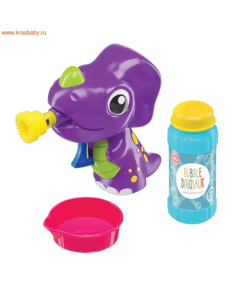 HAPPY BABY Набор для пускания мыльных пузырей BUBBLE DINOSAUR (фото)