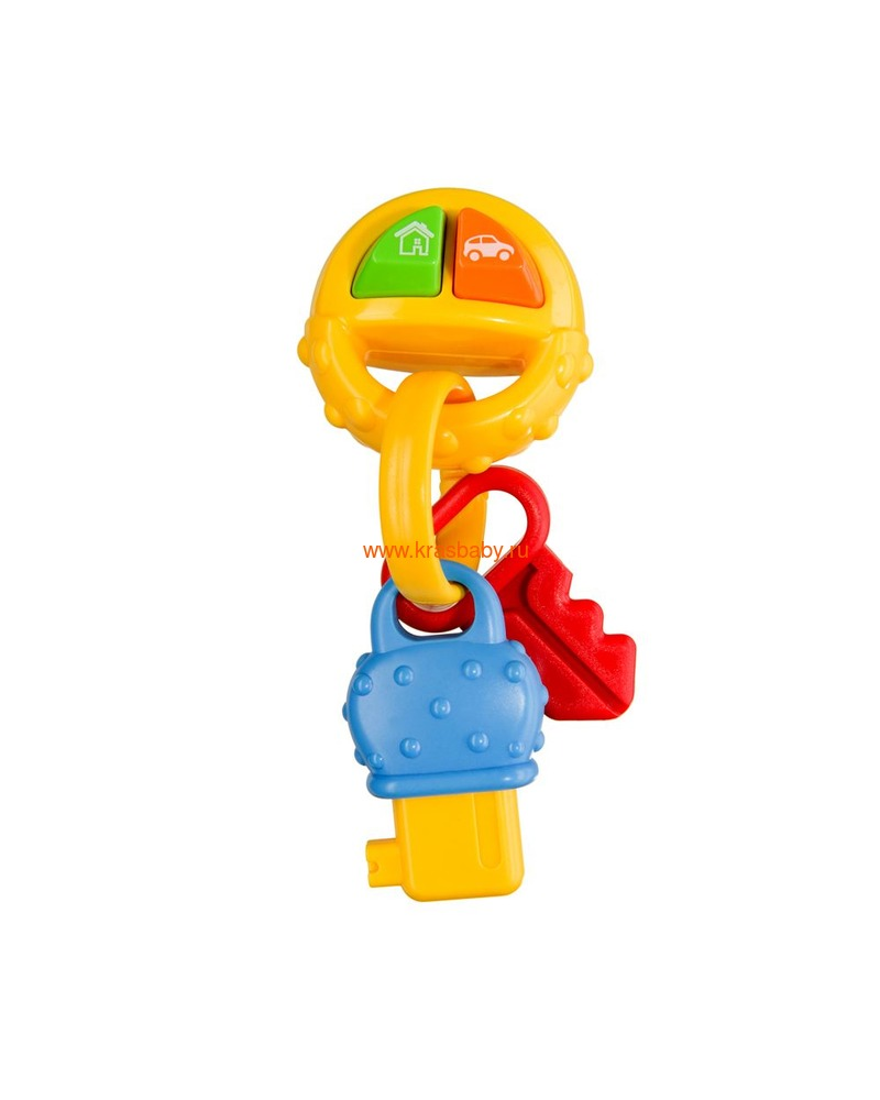 HAPPY BABY Музыкальный брелок PIP-PIP KEYS (фото)