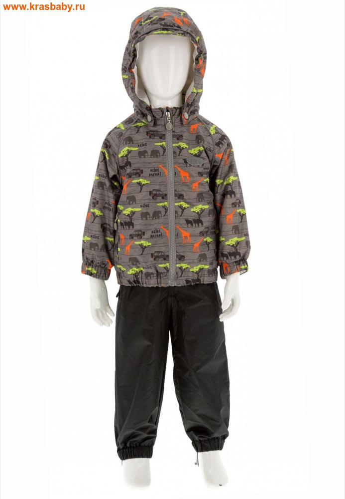 REIKE Комплект для мальчика (куртка+полукомбинезон) safari grey (фото)