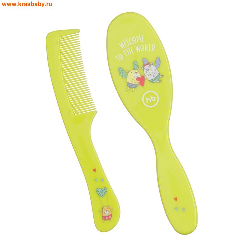 HAPPY BABY Набор детских расчесок HAIR CARE