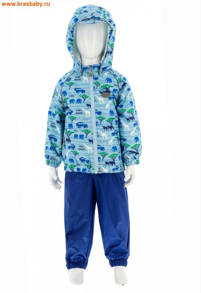 REIKE Комплект для мальчика (куртка+полукомбинезон) safari blue (фото)