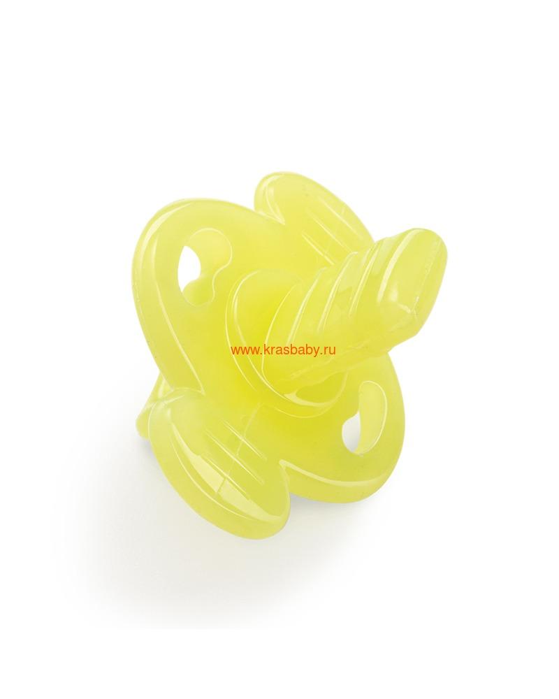 Прорезыватель HAPPY BABY SILICONE TEETHER IN CASE (силиконовый в футляре) (фото)