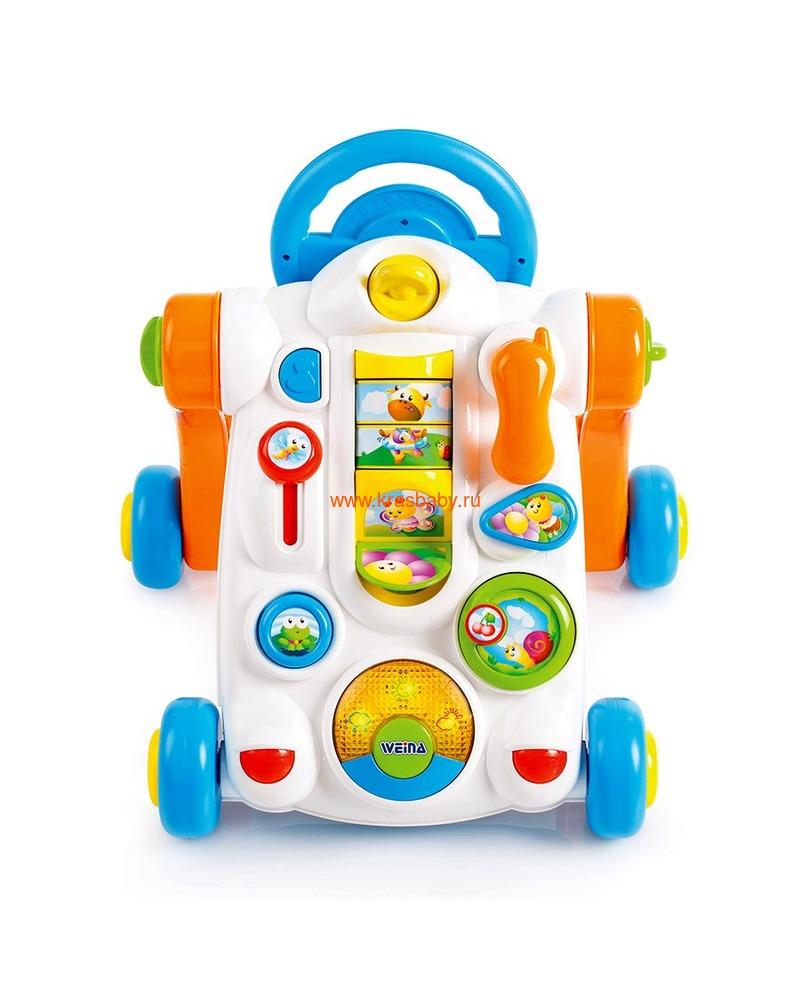 Ходунки детские WEINA Веселый водитель (развивающий центр)