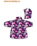 REIKE Комплект детский (куртка+полукомбинезон) FOX purple