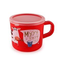 HAPPY BABY Кружка с ручкой и крышкой TRAINING CUP