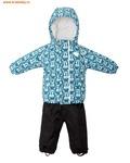 REIKE Комплект для мальчика (куртка+полукомбинезон) tweety green