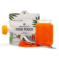 HAPPY BABY Многоразовые пакеты для детского питания FOOD POUCH