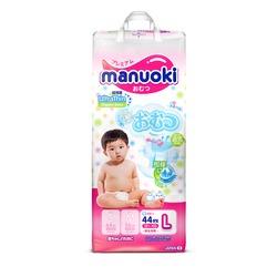 Manuoki Подгузники Ultra Thin размер L 12+кг, 44 шт