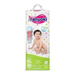 Manuoki Подгузники-трусики размер XL 12+кг, 38 шт