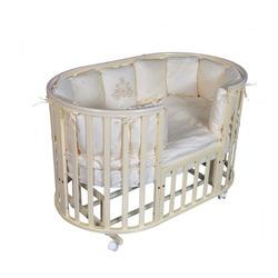 Кровать-трансформер Кедр Sofia-4 6 в 1 УМ/колеса