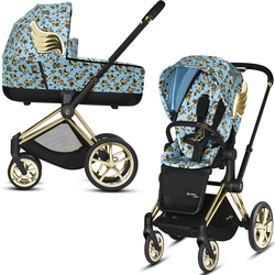 Коляска модульная CYBEX Priam III Jeremy Scott Cherubs