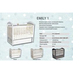Кроватка Кедр EMILY 1