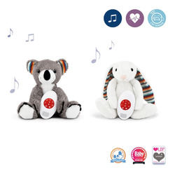 ZAZU игрушка-комфортер Коко и Биби
