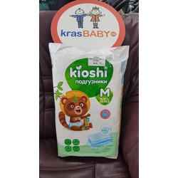 Подгузники KIOSHI M (6+11 кг) 54 шт.