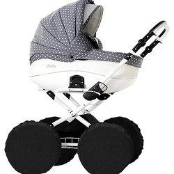 Protection Baby Чехлы на колеса для классических колясок