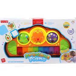 развивающие игрушки Jia Le Toys Мое пианино с креплением на кроватку 2 в 1